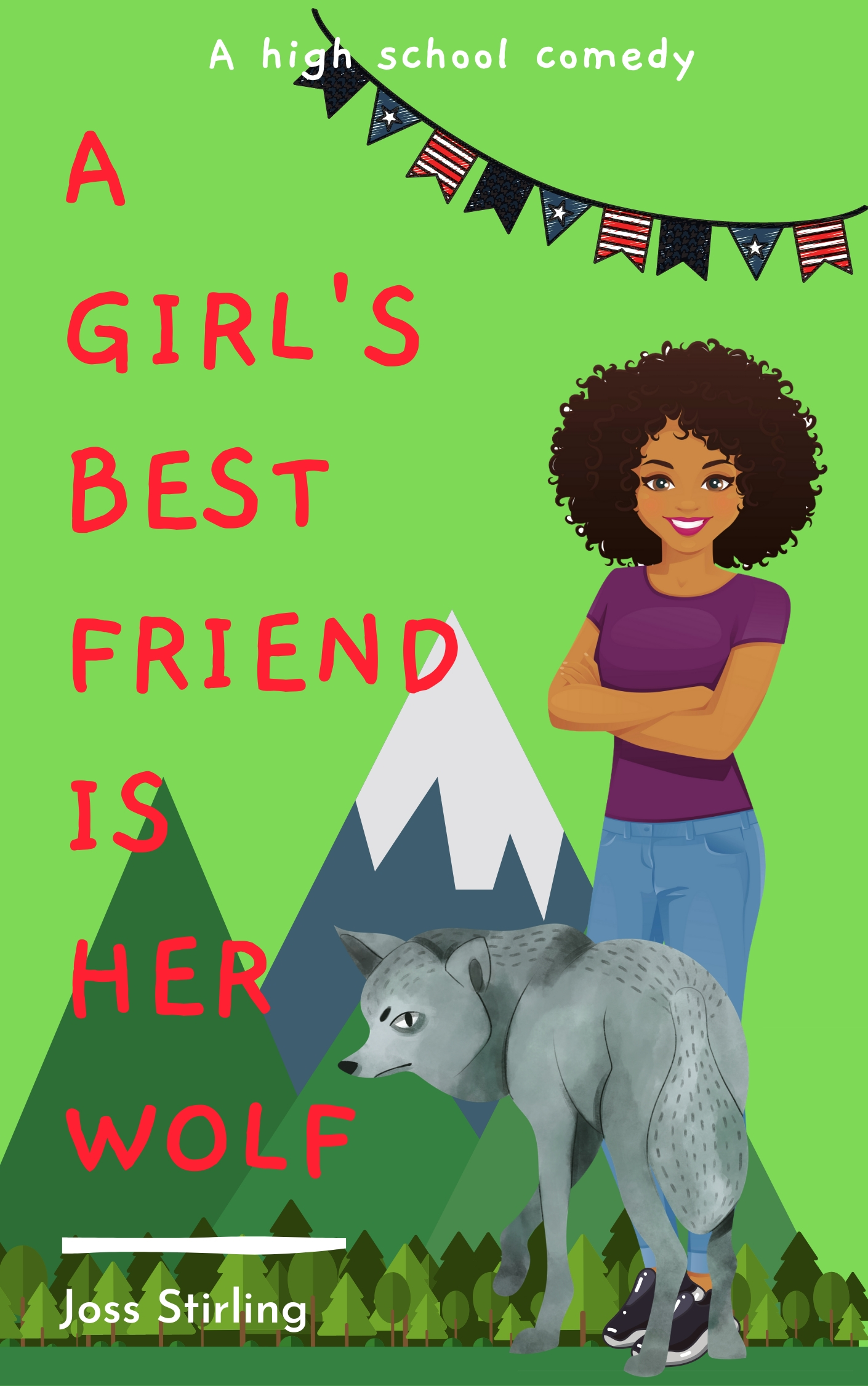 Cover for A Girl's Best Friend is Her Wolf